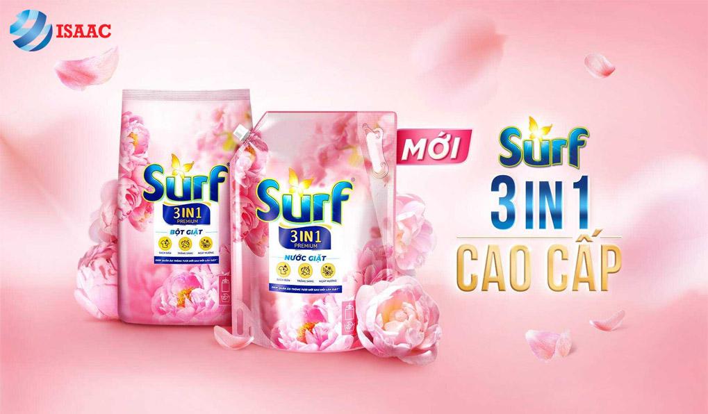 Nhà phân phối nước giặt Surf