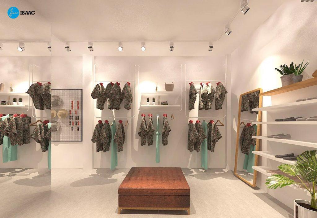 Shop thời trang thu hút giới trẻ