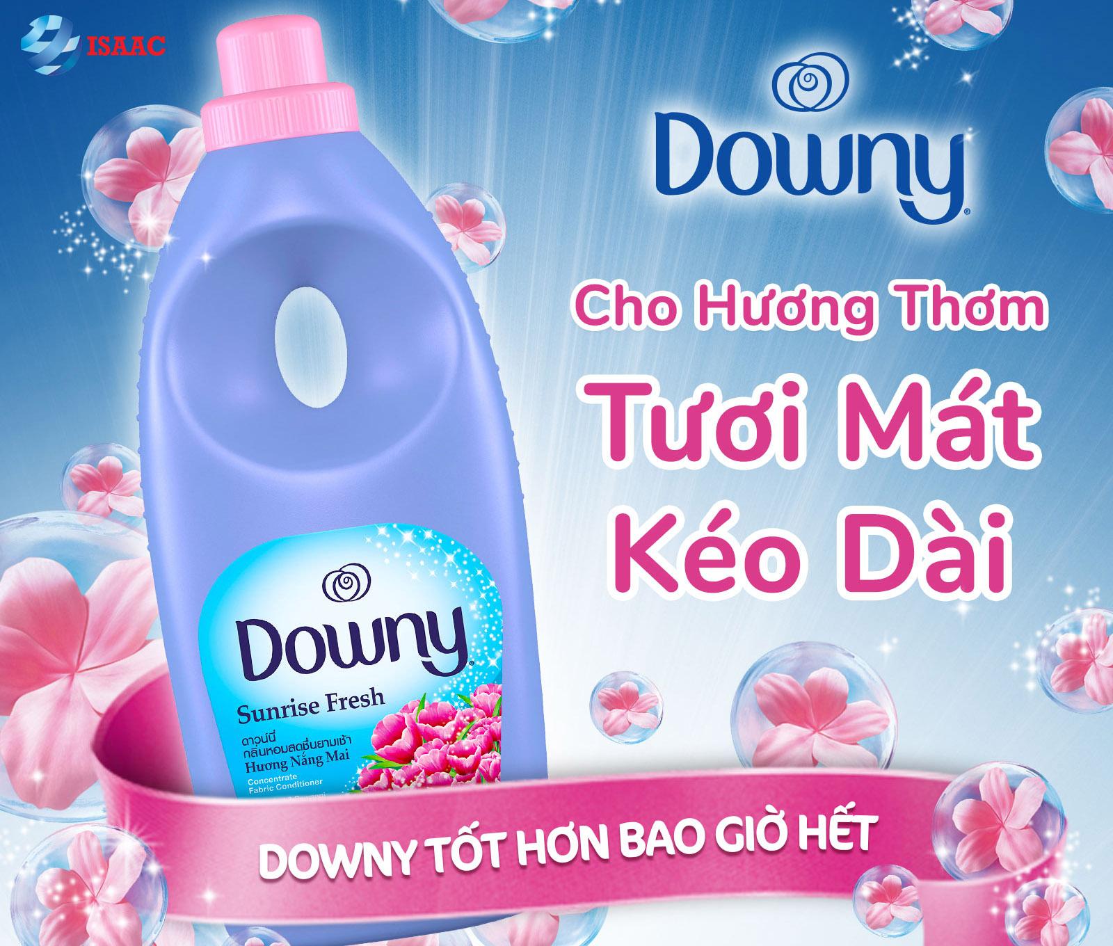 Nước giặt Downy hương hoa thơm ngát